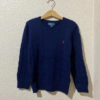 ポロラルフローレン(POLO RALPH LAUREN)のラルフローレン 綿100%セーター 120cm(ニット)