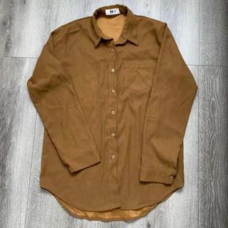 ゴゴシング(GOGOSING)のゴゴシング gogosing 韓国 韓国ファッション スエード シャツ (シャツ/ブラウス(長袖/七分))