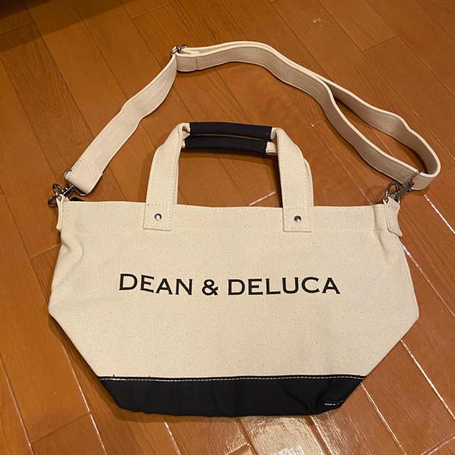 DEAN & DELUCA(ディーンアンドデルーカ)のDEAN & DELUCA ショルダー付きキャンバストートバッグSサイズ レディースのバッグ(トートバッグ)の商品写真