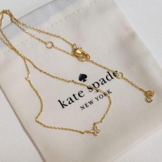 kate spade new york - ケイトスペードニューヨーク 蝶々ペンダントのネックレス