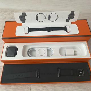 エルメス(Hermes)の新品 Hemes Apple watch series6 40mm ブラック(腕時計(デジタル))