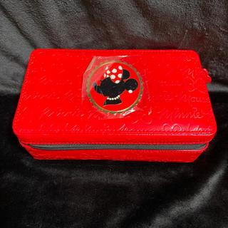 ディズニー(Disney)の新品 アクセサリーbox ディズニー ミニー アクセサリー収納 アクセサリー(小物入れ)