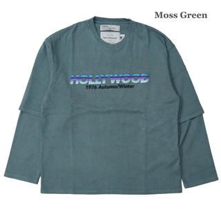 """Jieda - DAIRIKU """"HOLLYWOOD"""" Layered T-shirt 20aw"""