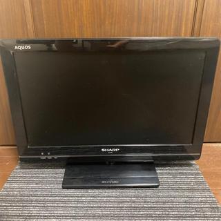 アクオス(AQUOS)の【大幅値下げ】SHARP AQUOS 液晶テレビ LC-19K5 美品 即日発送(テレビ)