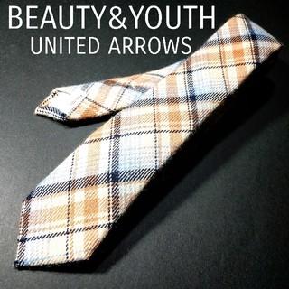 ビューティアンドユースユナイテッドアローズ(BEAUTY&YOUTH UNITED ARROWS)のBEAUTY&YOUTH UNITED ARROWS チェック ナロータイ(ネクタイ)