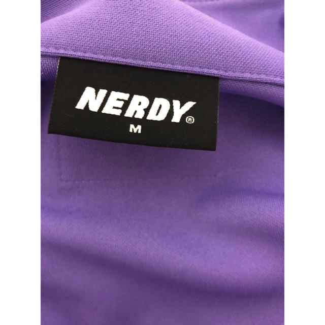 NERDY ジャージ 紫M 新品大人気 メンズのトップス(ジャージ)の商品写真