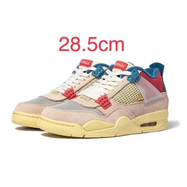 NIKE(ナイキ)のNIKE UNION JORDAN4 GUAVA ナイキ ユニオン ジョーダン4 メンズの靴/シューズ(スニーカー)の商品写真
