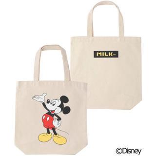 ミルクフェド(MILKFED.)の「新品」MILKFED. 【Disney】TOTE BAG(トートバッグ)