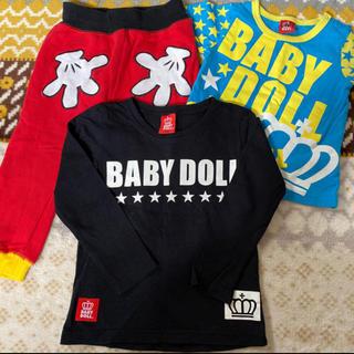 ベビードール(BABYDOLL)の【BABYDOLL  】3点セット(Tシャツ/カットソー)