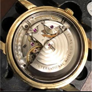 インターナショナルウォッチカンパニー(IWC)のIWC K14YG&SSバック ヴィンテージ インジュニア インヂュニア(腕時計(アナログ))