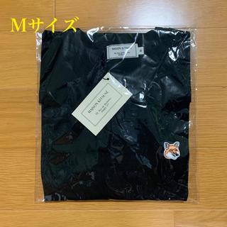 メゾンキツネ(MAISON KITSUNE')のメゾンキツネ フォックスヘッドパッチ Tシャツ 黒 Mサイズ(Tシャツ/カットソー(半袖/袖なし))