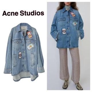 アクネ(ACNE)のacne studious デニムジャケット(Gジャン/デニムジャケット)
