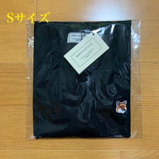 メゾンキツネ(MAISON KITSUNE')のメゾンキツネ フォックスヘッドパッチ Tシャツ 黒 Sサイズ(Tシャツ/カットソー(半袖/袖なし))