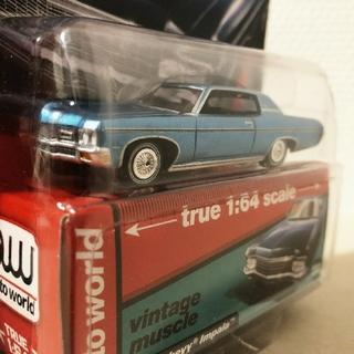 シボレー(Chevrolet)のAW/'70 Chevyシボレー Impalaインパラ 1/64 限定(ミニカー)