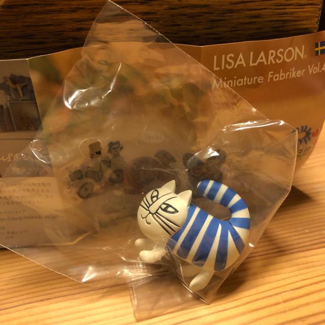 Lisa Larson(リサラーソン)のリサラーソン ガチャ ベイビーマイキー 青 新品 エンタメ/ホビーのフィギュア(その他)の商品写真