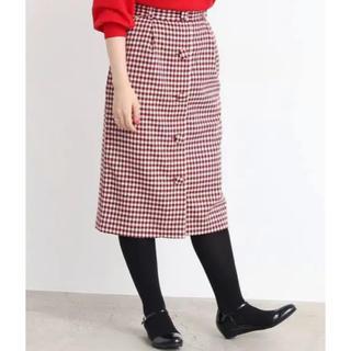 ドットアンドストライプスチャイルドウーマン(Dot&Stripes CHILDWOMAN)のDot&Stripes CHILD WOMAN/ギンガムチェックタイトスカート(ひざ丈スカート)