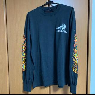 スラッシャー(THRASHER)の古着 ロンT スカル フレイム(Tシャツ/カットソー(七分/長袖))