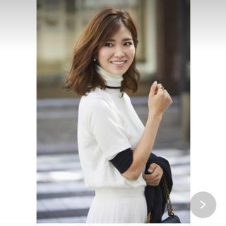 Drawer - 新品未使用♡セブンテン♡川人未帆♡ショートスリーブニット♡オフホワイト