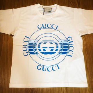 Gucci - GUCCI 新作 ディスク プリント オーバーサイズ ロゴ Tシャツ グッチ