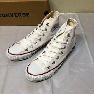 CONVERSE - CONVERSE コンバース ハイカット スニーカー ホワイト 24.0