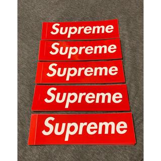 シュプリーム(Supreme)のSupreme Box logo ステッカー セット 50枚(その他)