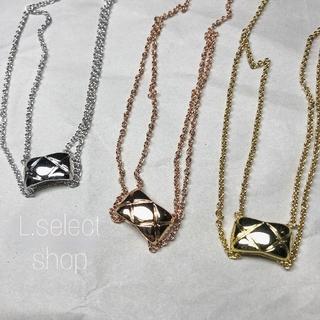 デミルクスビームス(Demi-Luxe BEAMS)の381.coco crush normal necklace【pink】(ネックレス)