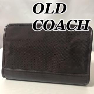 コーチ(COACH)の2008-31 / オールドコーチ フルグレインレザー ナイロン セカンドバッグ(セカンドバッグ/クラッチバッグ)