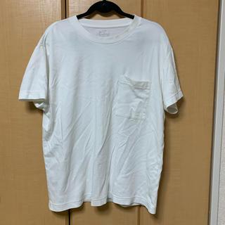 ムジルシリョウヒン(MUJI (無印良品))の【無印良品】インド綿二重編み ビッグシルエットTシャツ(Tシャツ/カットソー(半袖/袖なし))