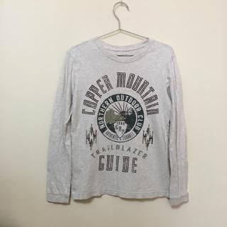 ギャップキッズ(GAP Kids)のGAP★ギャップ★ベージュのロンT XL(150) 綿100%(Tシャツ/カットソー)
