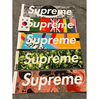シュプリーム(Supreme)のSupreme ステッカー 5枚 セット(その他)