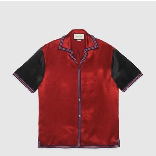 Gucci(グッチ)のグッチ★新品2020年ボーリングシャツ★サイズ52 メンズのトップス(シャツ)の商品写真