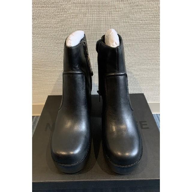 JOHN LAWRENCE SULLIVAN(ジョンローレンスサリバン)の27cm❗️NAKED WOLFE ヒールブーツ BLACK 黒 メンズの靴/シューズ(ブーツ)の商品写真