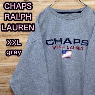 ラルフローレン(Ralph Lauren)の90s ヴィンテージ CHAPS RALPH LAUREN スウェットXXL(スウェット)