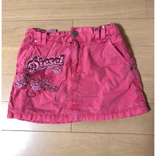 ディーゼル(DIESEL)のDIESEL ディーゼル 刺繍 スカート 5  113cm  110-120(スカート)