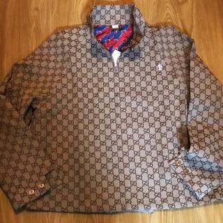 Gucci - ・GUCCI GG柄 ジャケット グッチ オーバーサイズ