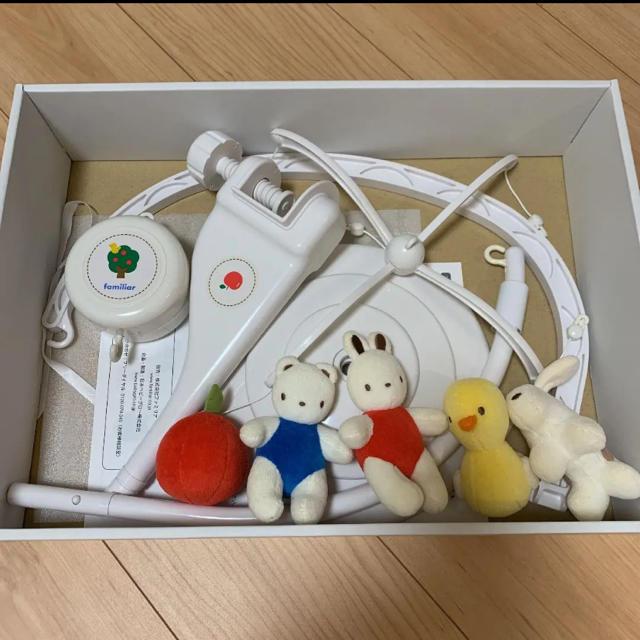 familiar(ファミリア)のfamiliar ベッドメリー キッズ/ベビー/マタニティのおもちゃ(オルゴールメリー/モービル)の商品写真