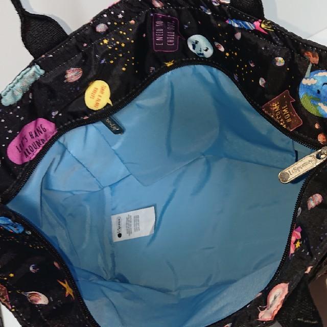 LeSportsac(レスポートサック)の新品☆LeSportsac スペーストーク スモールエブリガールトート♪ レディースのバッグ(トートバッグ)の商品写真