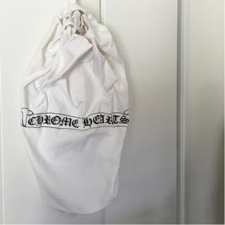 クロムハーツ(Chrome Hearts)の☆CHROME HEARTS ランドリーリュック 布製バッグ(バッグパック/リュック)