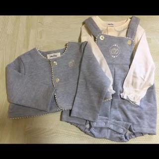 ベビーディオール(baby Dior)の新品未使用♡ベビーディオール♡セットアップ(セレモニードレス/スーツ)