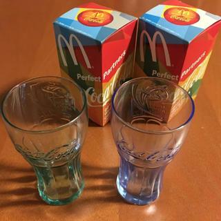 コカコーラ(コカ・コーラ)の非売品☆コカ・コーラグラス2個(ノベルティグッズ)
