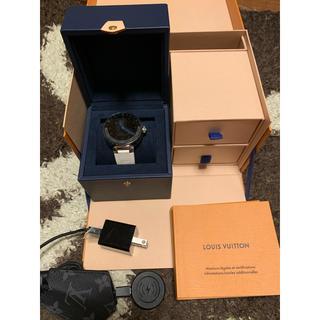 ルイヴィトン(LOUIS VUITTON)のルイヴィトン タンブールホライゾン V2 (腕時計(デジタル))