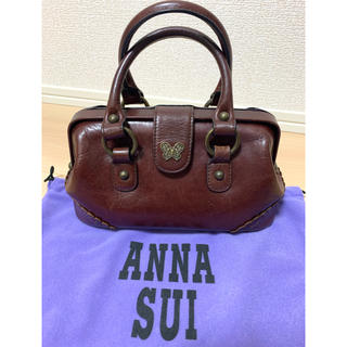 アナスイ(ANNA SUI)のANNA SUI アナスイ ドクターズバッグ 2way 茶 ブラウン(ハンドバッグ)