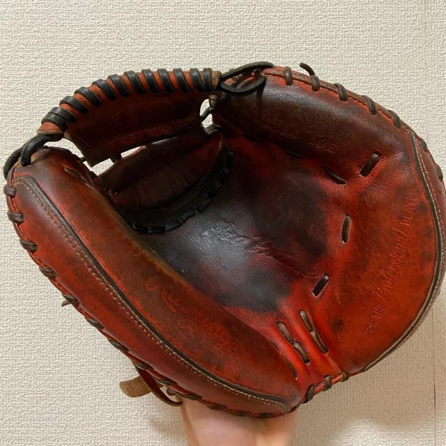 Rawlings(ローリングス)のローリングス プロプリモ 硬式用 キャッチャーミット グラブケース付き スポーツ/アウトドアの野球(グローブ)の商品写真