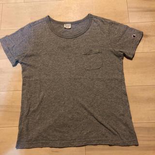 チャンピオン(Champion)のChampion Tシャツ グレー Sサイズ(Tシャツ(半袖/袖なし))