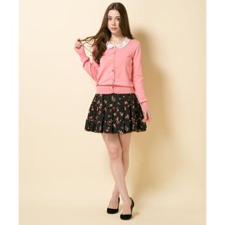 ドーリーガールバイアナスイ(DOLLY GIRL BY ANNA SUI)のドーリーガールバイアナスイ フラワーバードサテンフレアリバーシブルスカート(ミニスカート)