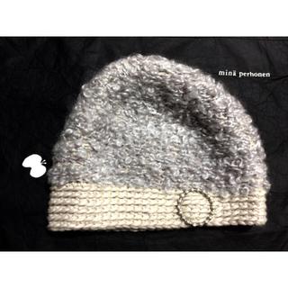 ミナペルホネン(mina perhonen)のミナペルホネン * hitomi shinoyama design ニット帽 (ニット帽/ビーニー)