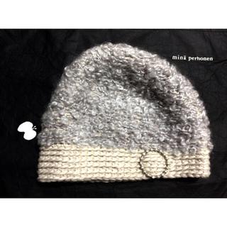 mina perhonen - ミナペルホネン * hitomi shinoyama design ニット帽
