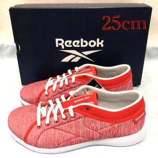 リーボック(Reebok)の未使用 リーボック ウォーキングシューズ 赤 レディース 25cm Reebok(スニーカー)