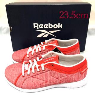 リーボック(Reebok)の未使用 リーボック ランニングシューズ 赤 レディース 23.5cm (スニーカー)