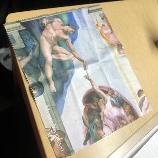 アダムエロぺ(Adam et Rope')のヴァチカン美術館 メガネ拭き アダムの創造(サングラス/メガネ)